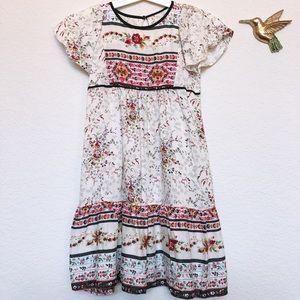 Zara Girl Bohemian Dress 6